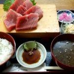 【松戸】【ランチ】駅近でデカネタ海鮮丼!『お食事処 築地』で本まぐろ中トロ刺身定食を食べてきました