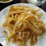【門前仲町】叙香苑(じょこうえん)で日本の定番しょうが焼き定食を食べる