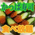 【かっぱ寿司】60分1本勝負の食べ放題!そのメニューを紹介します【回転寿司】